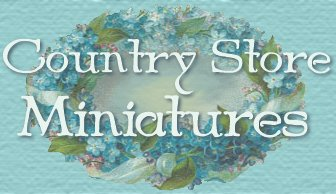 Country Store Miniatures